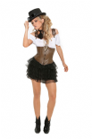 Elegant Moments Costume Da Steampunk 4pz | EM9928